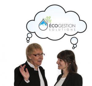 Photo de l'équipe d'ÉCOgestion solutions
