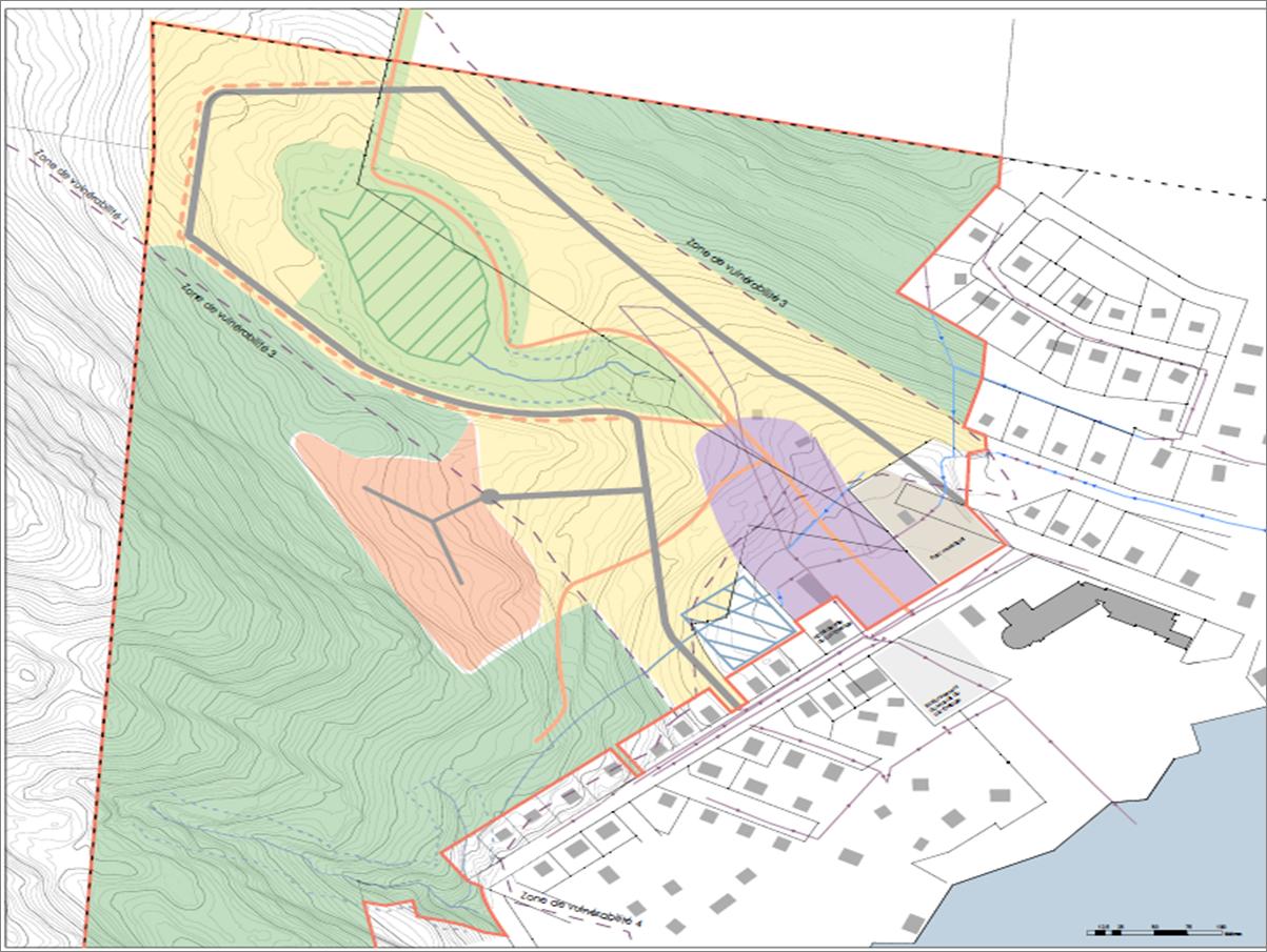 Design de moindre impact dans le bassin versant de la prise d'eau potable de Québec (2016-2017)